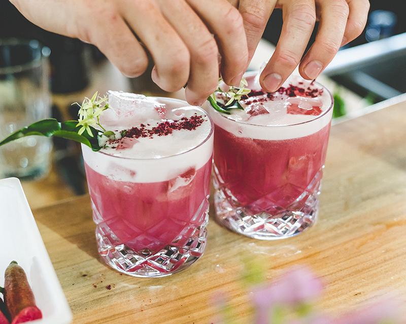 Brookies Gin Rainforest Sour