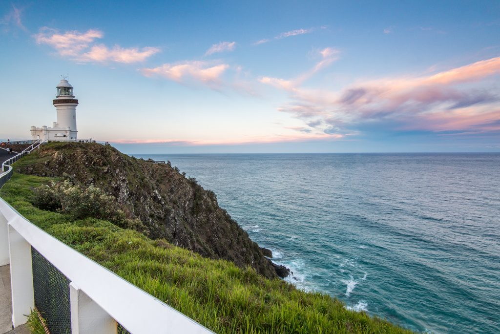 Byron Bay Lighthouse Sunset